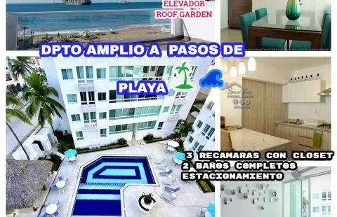 DEPARTAMENTOS EN REAL PLAYA AZUL